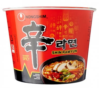 NONG SHIM Spicy Mushroom Flavoured Big Bowl Noodles 117g