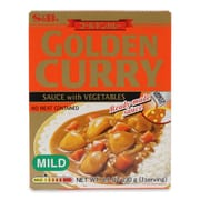 Golden Curry Sauce W/ Vegetables Mild 230g