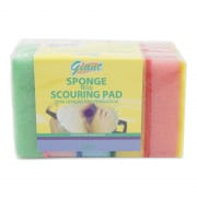Sponge With Scouring Pad 5s
