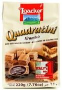 Bite Size Wafers Quadratini Tiramisu 220g