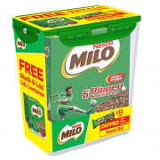 Nestle Milo Snack Bars Dipped + Container 162g