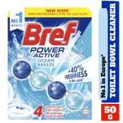 Power Active Toilet Bowl Cleaner - Ocean Breeze 50g