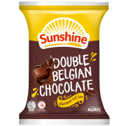 Double Belgian Chocolate Wholemeal Soft Bun 60g