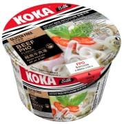 Silk Beef Pho Rice Noodles - Bowl 70g