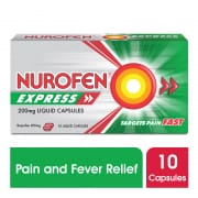 Express Liquid Caplets 200mg