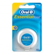 Essential Floss Waxed Dental Floss 50m