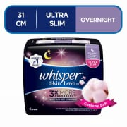 Whisper Skin Love Ultra Slim All Night 31cm, 6pcs