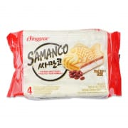 Samanco Fish Ice Cream Sandwich Red Bean 4sX150ml