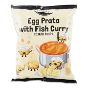 Egg Prata Fish Curry Potato Chips 70g