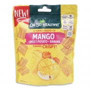 Mango Sweet Potato Banana Fruit Crisps 40g