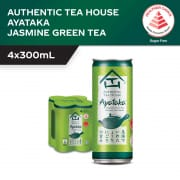 Ayataka Japanese Green Tea 4sX300ml