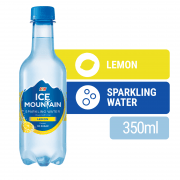 ICE MOUNTAIN Lemon Flavoured Sparkling Water 375ml