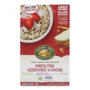 Organic Instant Oatmeal Variety 8sX50g
