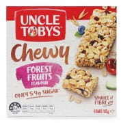 Chewy Forest Fruits Muesli Bars 6sX185g