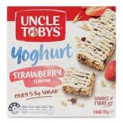 Yoghurt Strawberry Muesli Bars 6sX185g