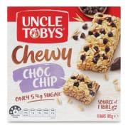 Chewy Chocolate Chip Muesli Bars 6sX185g