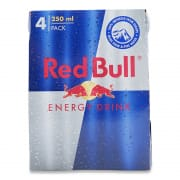 RED BULL ENERGY DRINKS 4S 250ML