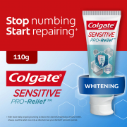 COLGATE Toothpaste Sensitive Pro.Relief - Whitening 110g