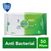Anti Bacterial Wet Wipes 50s
