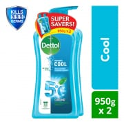 Anti-Bacterial Body Wash Cool Twin Pack 2sX950ml