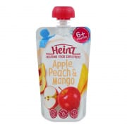 Simply Apple, Peach & Mango 120g