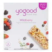 Muesli Bar Yoghurt Coated - Wildberry 6sX23g