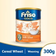 Friso Gold Wheat Milk Cereal (6 months onwards) Baby Cereal 300g