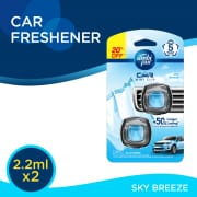 Car Air Freshener Mini Clip Sky Breeze  2sX2ml