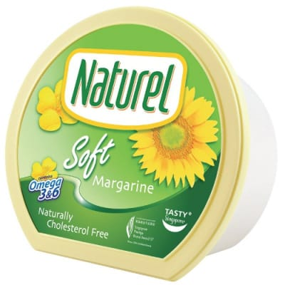 Naturel Margarine Soft 500G