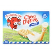 Laughing Cow Cheez Dippers - 4 Tubs Cheese