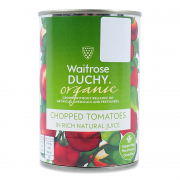 Organic Chopped Tomatoes in Juice 400g