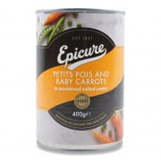 Petits Pois & Baby Carrot 400g