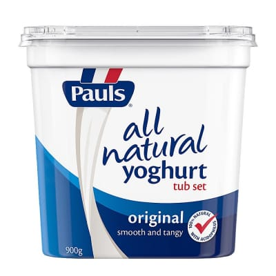 All Natural Yoghurt Tub Set Original 900g
