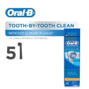 Precision Clean Power Toothbrush Refill 5s