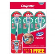 Toothbrush 360 Medium Buy 2 Get 1 Free
