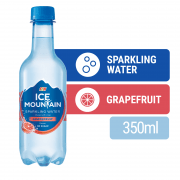 ICE MOUNTAIN Grapefruit Flavoured Sparkling Water 375ml