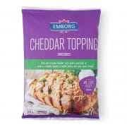 Natural Cheddar Topping Shredded 200g