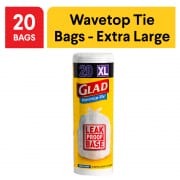 Wavetop Tie Extra Large Kitchen Tidy Bag with Odour Protect