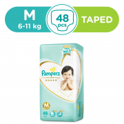 Premium Care Tapes Diapers 48s M 6-11kg