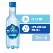 ICE MOUNTAIN Classic Sparkling Water 375ml