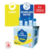 Lemon Flavoured Sparkling Water 4sX375ml