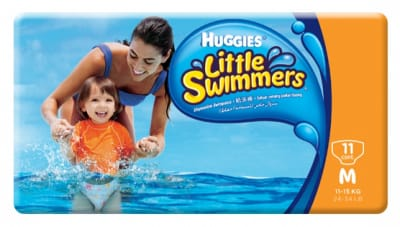HUGGIES Little Swimmers Diapers M 11-15kg 11s