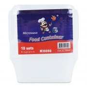 Food Square Container 330ml
