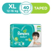 Baby Dry Tapes Diapers XL 40s 12-16kg