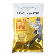 SAVOUR SMITHS Italian Cheese & Port Potato Crisps 150g