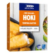 Hoki Tempura Batter Fish Fillets 6s