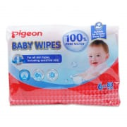 100% Pure Water Baby Wipes 480s