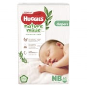 Platinum Naturemade Diapers Newborn 60s