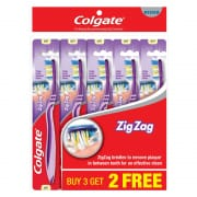 Toothbrush Zig Zag Medium 5s