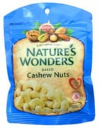 NATURES WONDERS Baked Cashews 70g